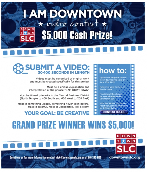 """I Am Downtown"" Video Contest"
