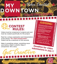 My Own Downtown Video Contest